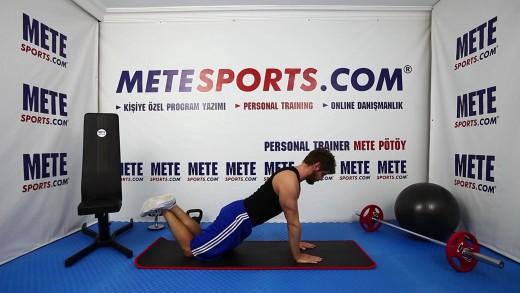 Dar Şınav (Arka Kol – Triceps) – Yeni Başlayanlar İçin Evde Vücut Geliştirme Hareketleri
