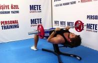 Dar Tutuş Arka Kol (Triceps) İçin Pres – Vücut Geliştirme Hareketleri
