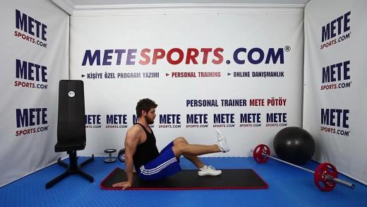 Diz Sakatlığından Korunma Egzersizleri – Oturarak Düz Bacak Kaldırma
