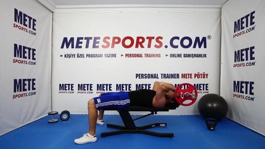Kafatası Ezici – Arka Kol (Triceps) Geliştirme Hareketleri