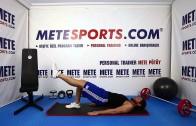 Kalça Bacak Kaldırma – Evde Pilates Hareketleri