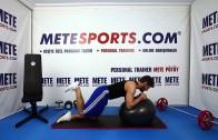 Kalça Sıkılaştırma (Pilates Topu ile) – Evde Yapılabilecek Pilates Hareketleri