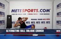 Pilates Topu ile Dönüşümlü Yan Mekik – Pilates Hareketleri