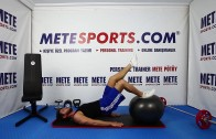 Vücut Geliştirme Hareketleri – Pilates Topu ile Arka Bacak Curl