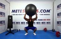 Pilates Topu Yukarıda Çökme – Pilates Egzersizleri