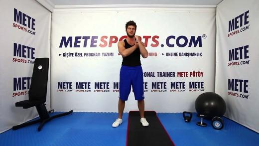 Tüm Vücut Zıplamalı Şınav – İleri Seviye Vücut Geliştirme Hareketleri