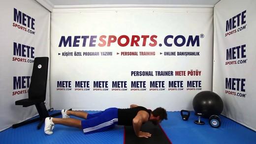 Zıplamalı Şınav – İleri Seviye Göğüs Egzersizi