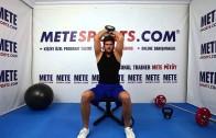 Oturarak Dambıl Triceps Açma – Evde Yapılabilecek Dambıl Hareketleri